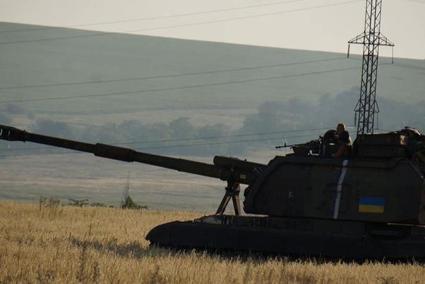 В зоне АТО наблюдается уменьшение вооруженных провокаций террористов - МО