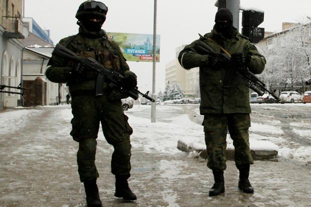 В Луганск вошли подразделения регулярной армии РФ