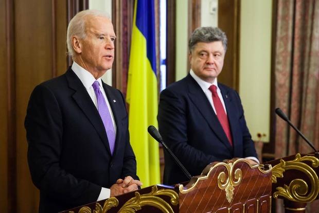 Порошенко провел встречу с вице-президентом США