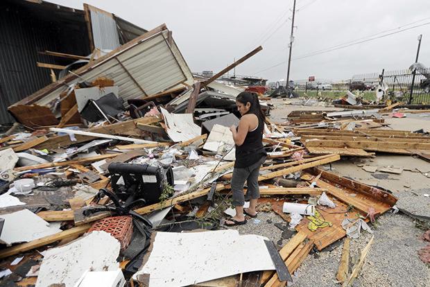 Страховой совет Техаса посчитал ущерб от мощного урагана Харви