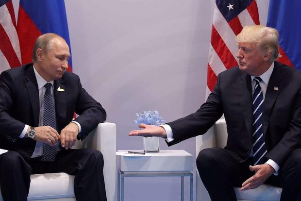 На первой встрече Трамп и Путин договорились о перемирии в Сирии