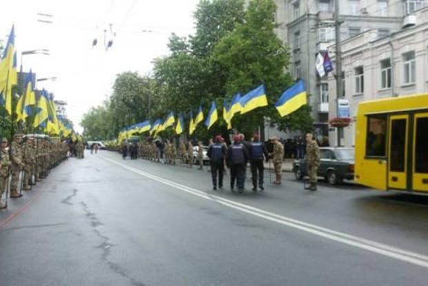 Нацполиция оформила 19 задержанных во время акций 9 мая