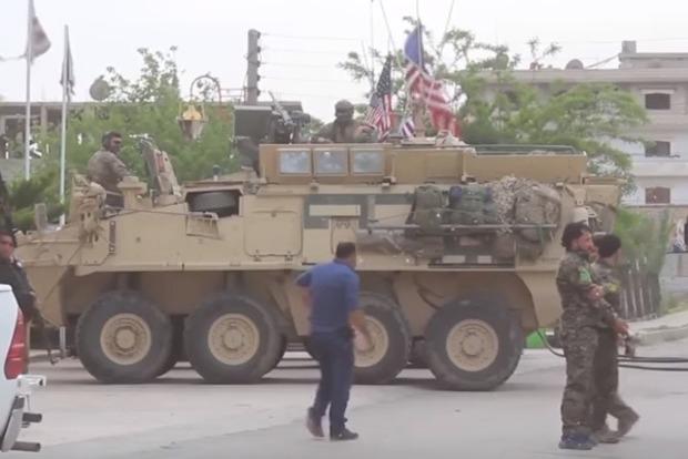 Обнародовано видео уничтожения российских наемников в Сирии