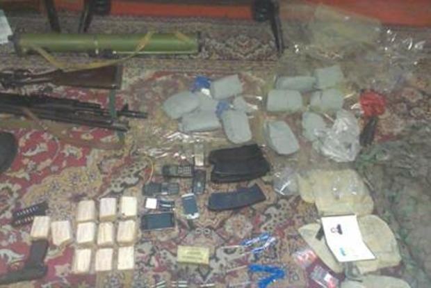 В Донецкой области задержан диверсант, готовивший теракты