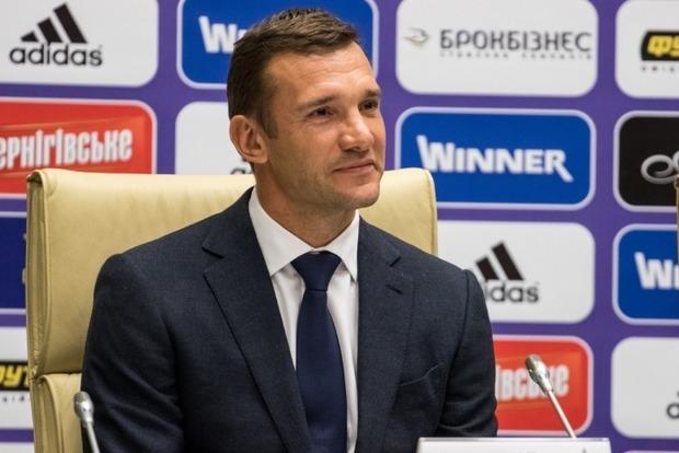 Шевченко вызвал на матч против Словакии двух новичков
