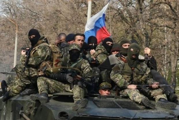 На Донбассе 11 пьяных боевиков выехали на БМП на минное поле - ГУР