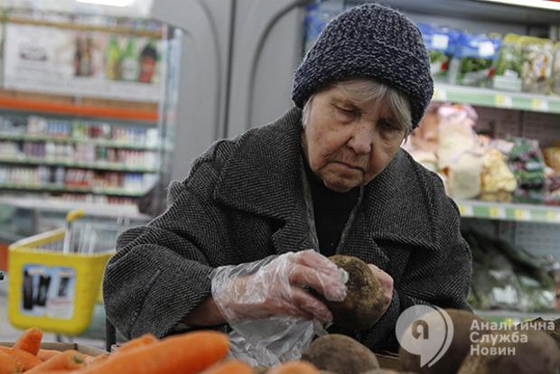 Еда для украинцев в пять раз менее доступна, чем гражданам ЕС
