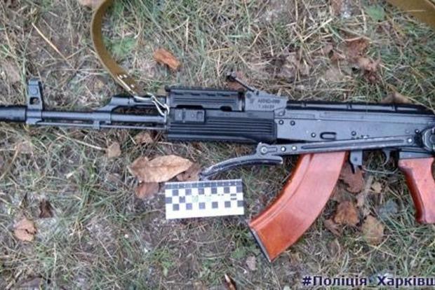 Под Харьковом мужчина открыл стрельбу из автомата