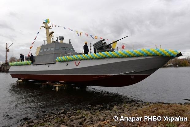 Военные моряки получили новые артиллерийские катера