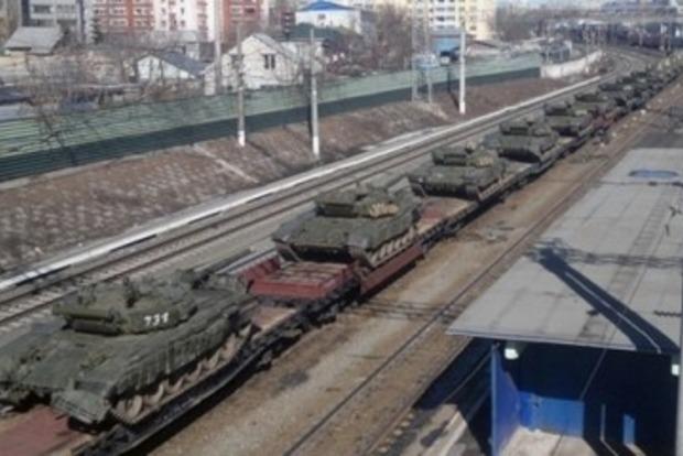 Россия прислала боевикам очередные партии оружия и военной техники