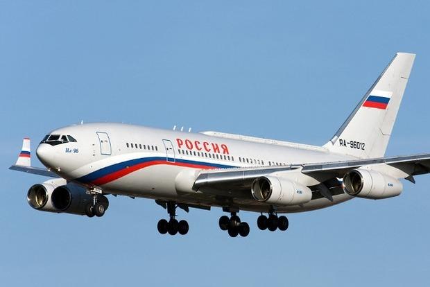 В РФ сломался самолет Владимира Путина