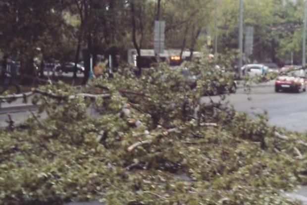 В Москве бушует ураган, а в Самаре и Оренбурге выпал снег