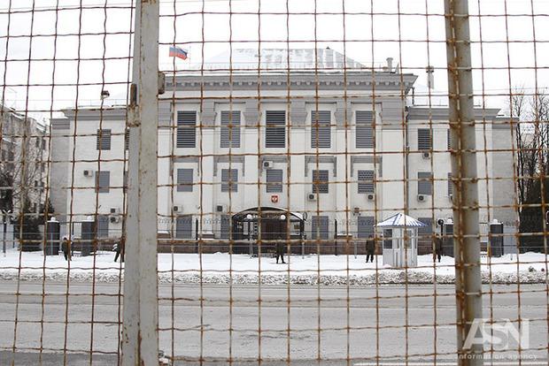 Украина высылает российских дипломатов