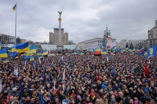 Завтра запорядком вцентре столицы Украины будут следить около 3 тыс. полицейских