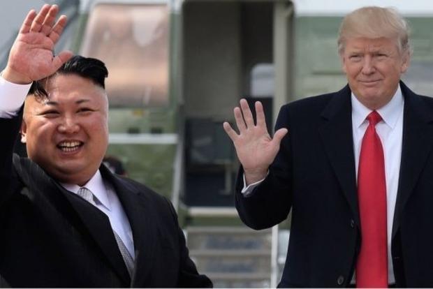 В Сингапуре встретились Дональд Трамп и Ким Чен Ын