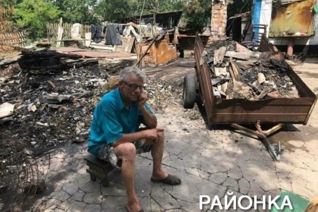 Ложки и кастрюли расплавились: в Запорожской области шаровая молния сожгла дом и покалечила хозяина