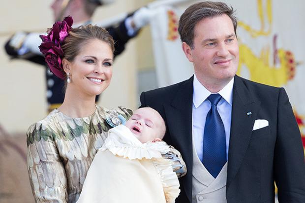 Принцесса Швеции родила третьего ребенка