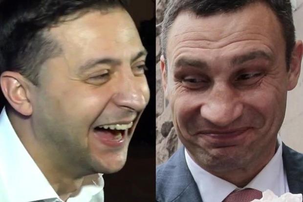 Кличко жестко прошелся по кандидату Зеленскому