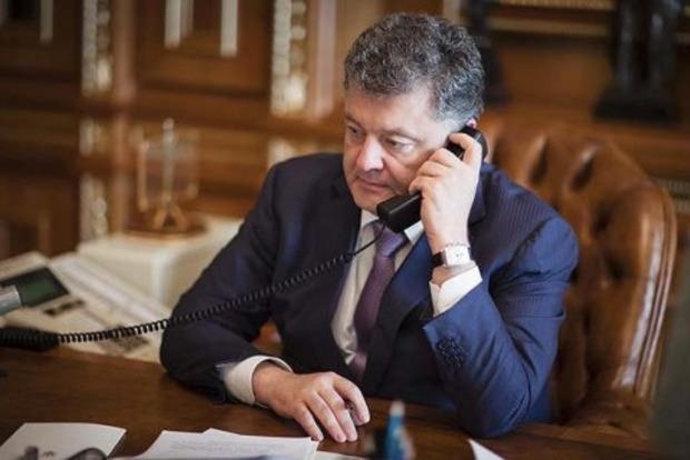 Порошенко і Путін провели телефонну розмову про політв'язнів