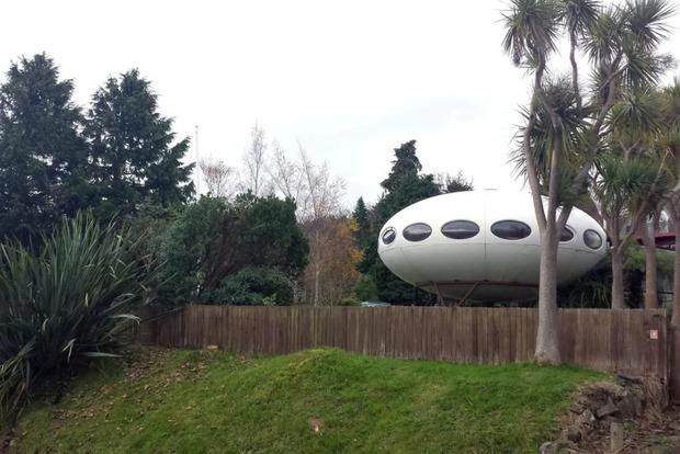 В Новой Зеландии продают дом-НЛО