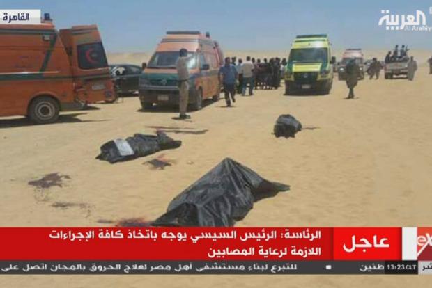 В Египте число жертв нападения боевиков возросло до 35, среди них дети