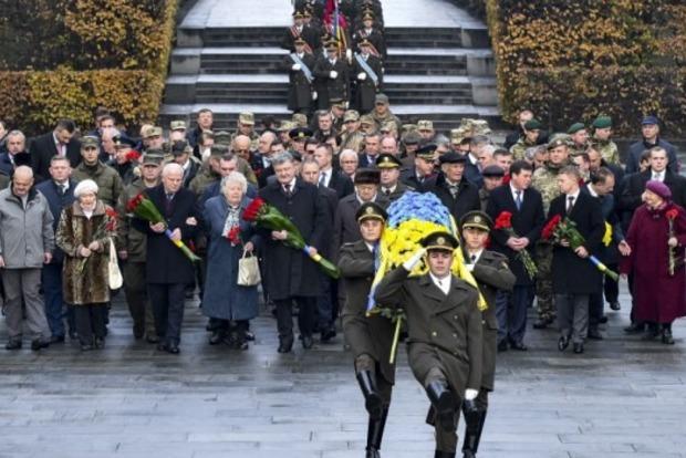 В Украине почтили память погибших во время изгнания нацистов