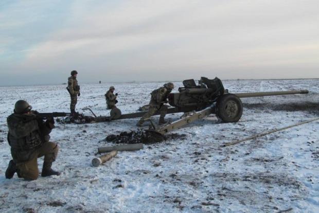 Штаб: За минувшие сутки боевики 31 раз обстреляли силы АТО