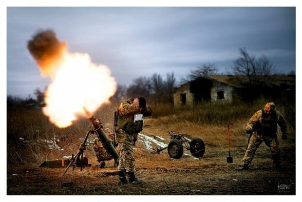Штаб: Боевики стягивают на передовую тяжелое вооружение