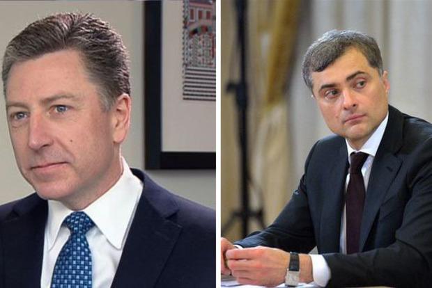 Сурков дал первый комментарий по результатам встречи с Волкером