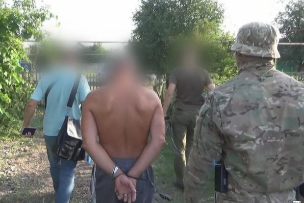 В Донецкой области сотрудники СБУ задержали информатора боевиков «ДНР»