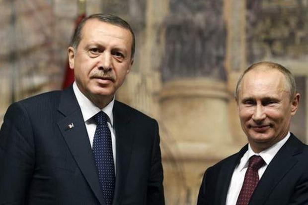 Эрдоган и Путин договорились о личных переговорах