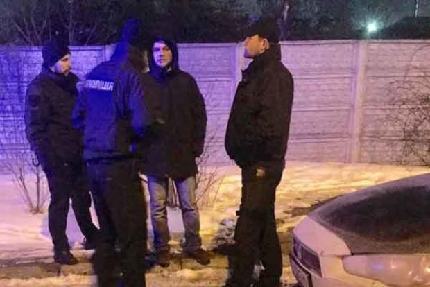 В Киеве поймали пьяного экс-главу полиции Харькова на Mitsubishi