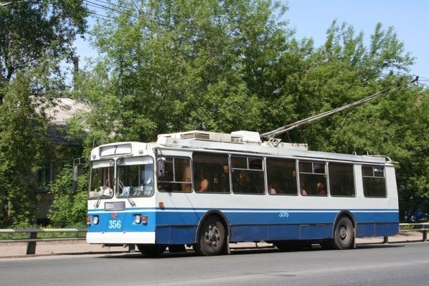 Две пьяные россиянки захватили троллейбус и избили кондуктора
