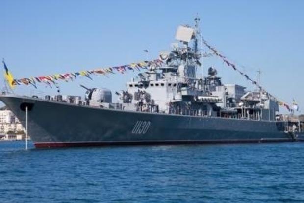 Яценюк поручил разработать проект модернизации фрегата «Гетьман Сагайдачный»