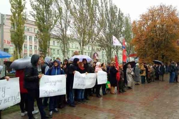 Мариуполь ждет нас. В Донецке провели «антифашистский» митинг