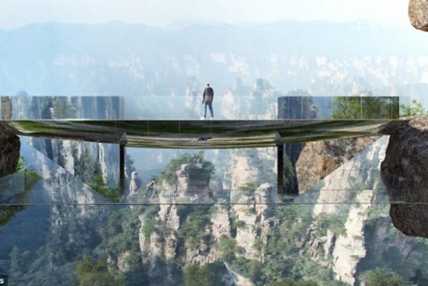 В Китае хотят построить невидимый мост стоимостью $5 млн