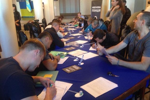 В Краматорске начался прием анкет в новую патрульную полицию