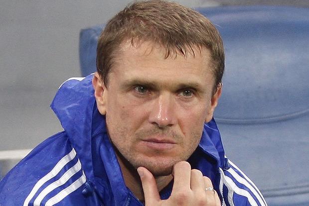 Ребров покинул пост тренера киевского Динамо