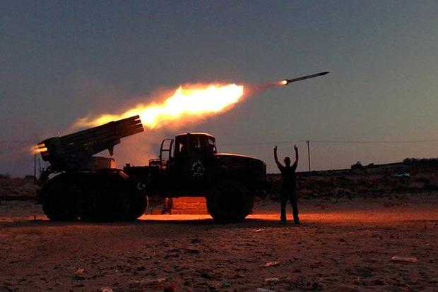 Боевики обстреляли мирных жителей из реактивных систем залпового огня