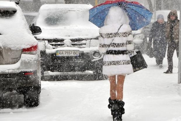 Синоптики: Украину накроют сильные морозы и снегопады