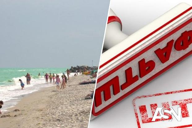 В Мелитополе на 17 тысяч гривень суд оштрафовал за отсутствие маски на пляже