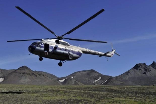 В сети появились фото с места крушения российского вертолета