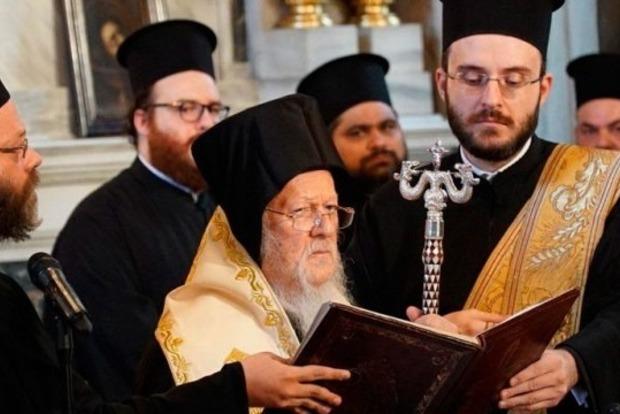 Константинополь в конце ноября утвердит текст Томоса для Украины