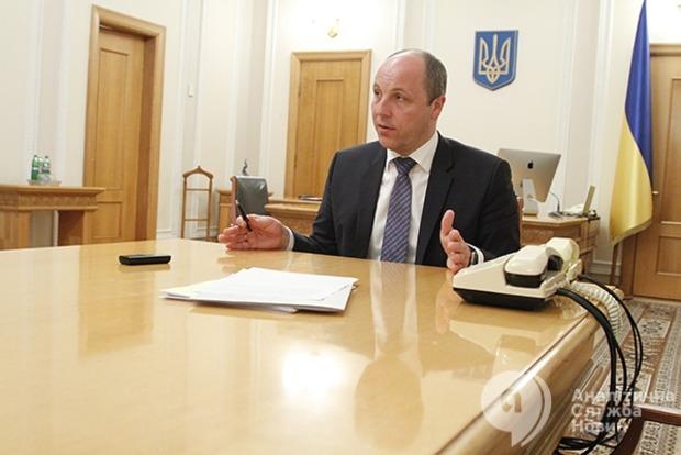 Парубий рассказал, как Савченко повлияет на работу Верховной Рады
