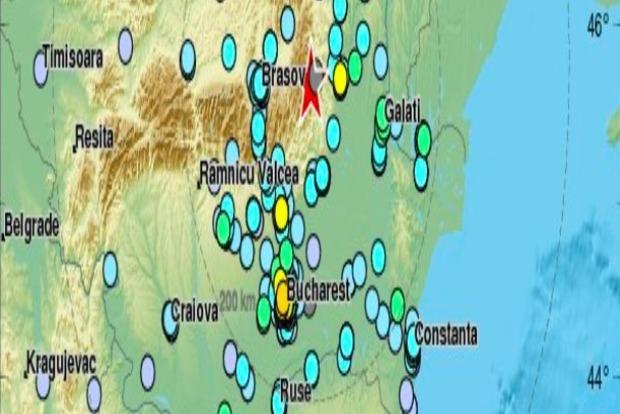 Землетрясение в Румынии: подземные толчки ощущались в Киеве и Одессе