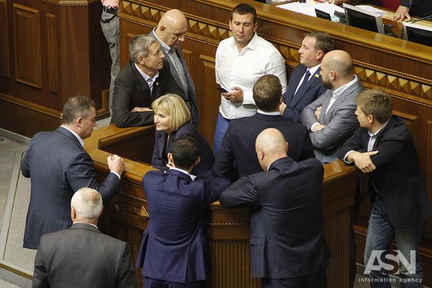 Завтра утром Рада продолжит рассмотрение закона о реинтеграции Донбасса