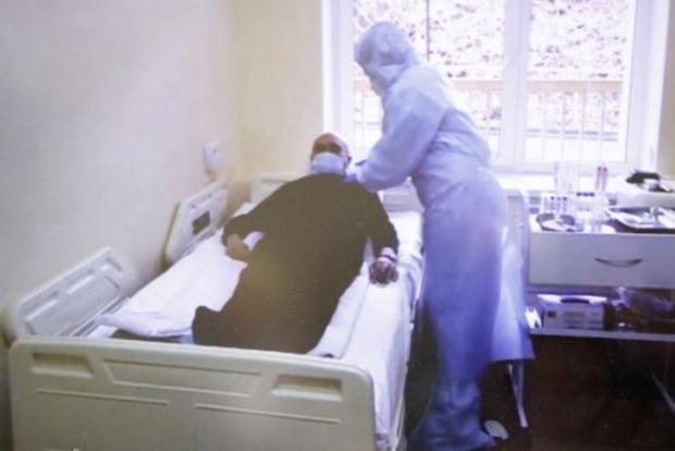 Пациент с коронавирусом пожаловался на ужасные условия в киевской больнице