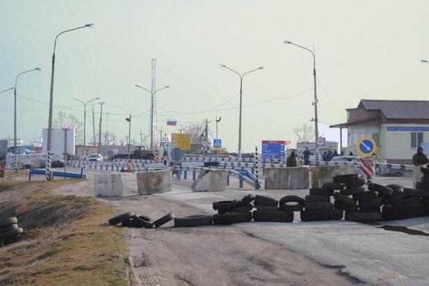 На блокпосту умер участник блокады Крыма