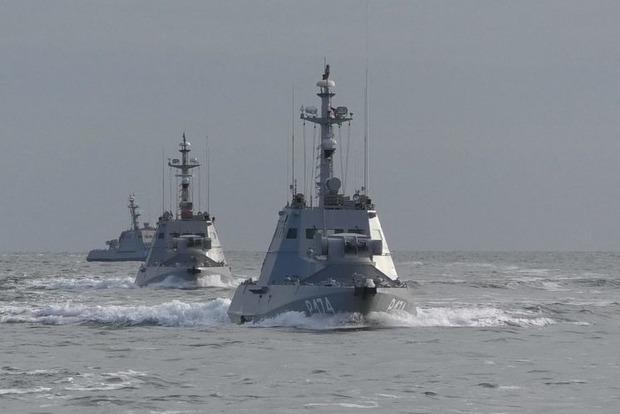 Украина проводит военные учения в Черном и Азовском морях
