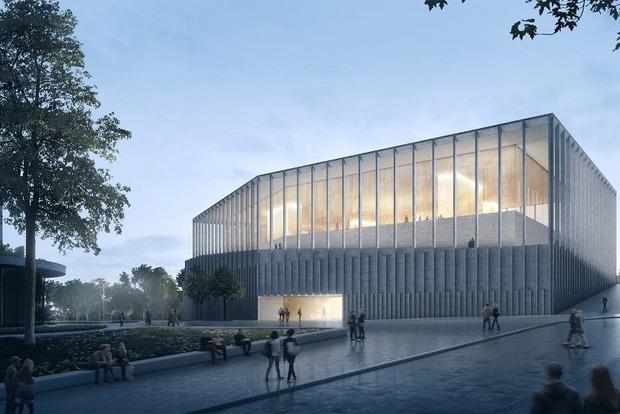 Огромный куб: комиссия выбрала проект, по которому будут строить Музей Революции Достоинства